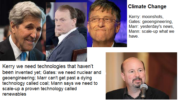 Mann: John Kerry is wrong about the need for future tech to combat climate change